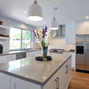 Immaculate minimal kitchen remodel in Thousand oaks by JRP Design and Remodel